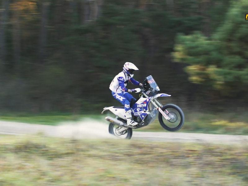 Świat Motocykli | Maciej Giemza | Rajd Dakar